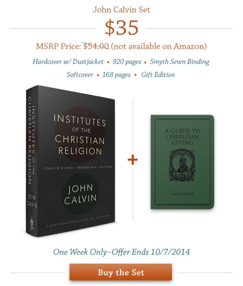 Calvin For Everyone Set 02 Tags Institutes Of The Christian Religion